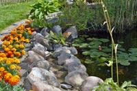Exklusive-Gartenteiche-Teichdeko