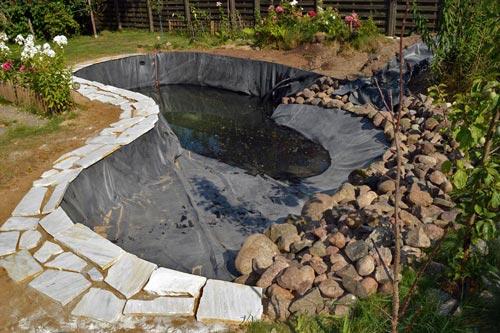 Ganz und zu Extrem EPDM Teichfolie - Exklusive-Gartenteiche #AA_23