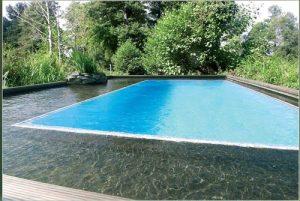 Schwimmteich mit Gfk-Becken