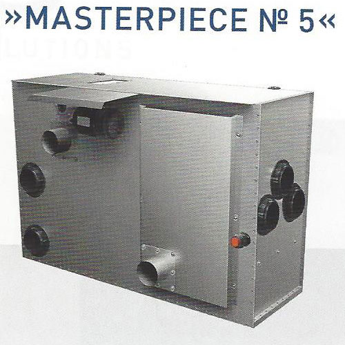 Masterpiece-No5 Endlosbandteichfilter